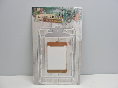 Industrial Clipboard Die - Mixed Media Art Supplies - Craft Supply House