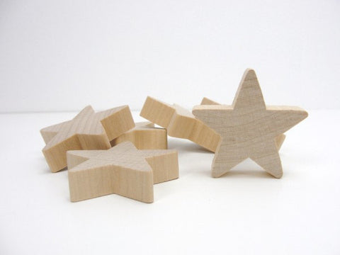"Traditional star 2"" wide 1/2"" thick - Wood parts - Craft Supply House"