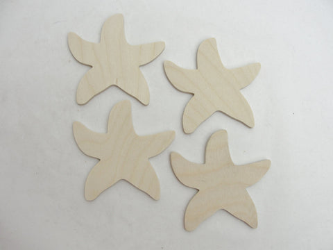 Starfish cutouts set of 4