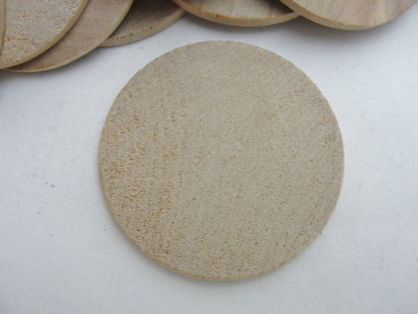 "Wooden Circle disc 1 3/4"" x 1/8"" thick - Wood parts - Craft Supply House"