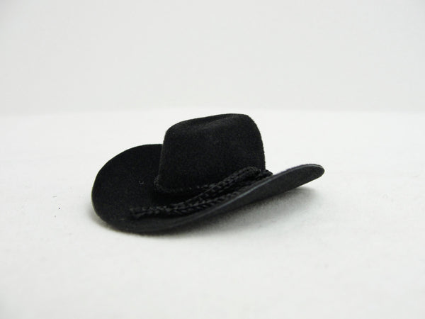 Miniature black cowboy hat, mini cowboy hat, peg person cowboy hat - General Crafts - Craft Supply House