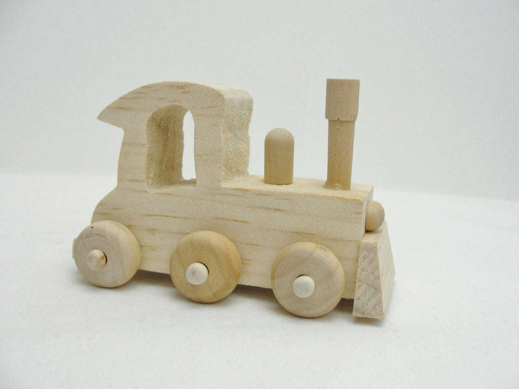 Small wooden train DIY paint your own - Wood parts - Craft Supply House