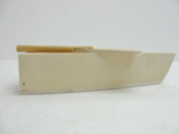 Small wooden rowboat with 2 oars - Wood parts - Craft Supply House