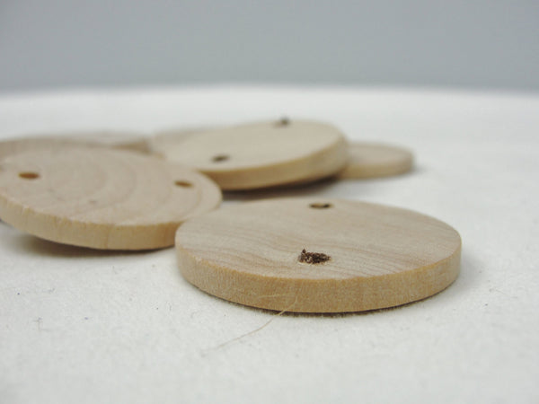 "Birthday board or anniversary board wooden tags 1.25"" circle or disc - Wood parts - Craft Supply House"