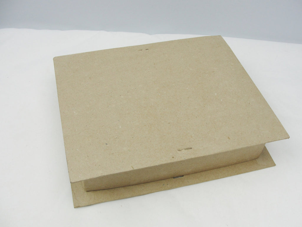 Large rectangle paper mache gift or keepsake box - Paper Mache - Craft Supply House