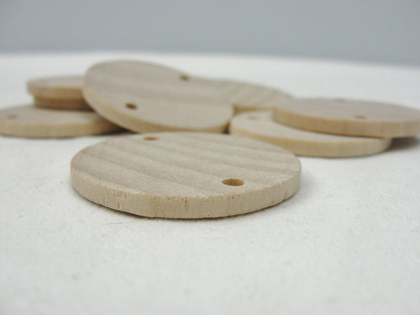 "Wooden birthday board or anniversary board tags 1.5"" wooden circle or disc - Wood parts - Craft Supply House"
