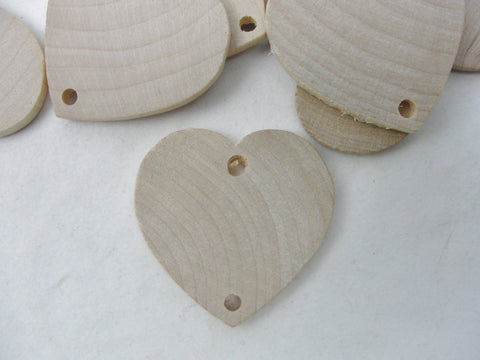 "Wooden birthday board or anniversary board heart tags 1.5"" - Wood parts - Craft Supply House"