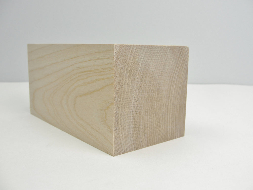 "Large wooden rectangle 5"" x 2 1/2"" x 2 1/2"" - Wood parts - Craft Supply House"