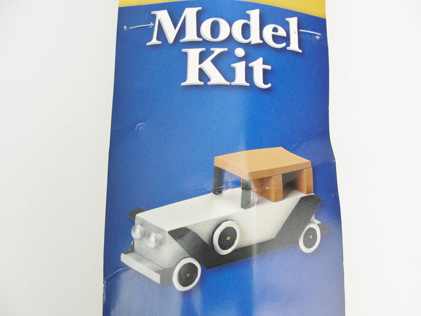 Antique limo wood model kit - Model kits - Craft Supply House