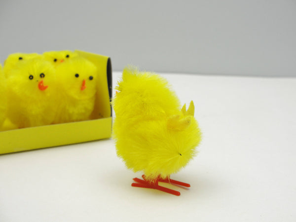 Yellow chicks set of 6 - General Crafts - Craft Supply House