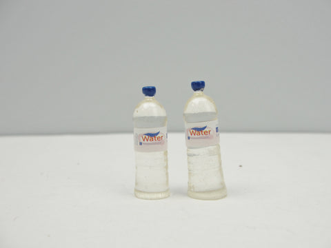 Dollhouse miniature water bottles set of 2 - Miniatures - Craft Supply House