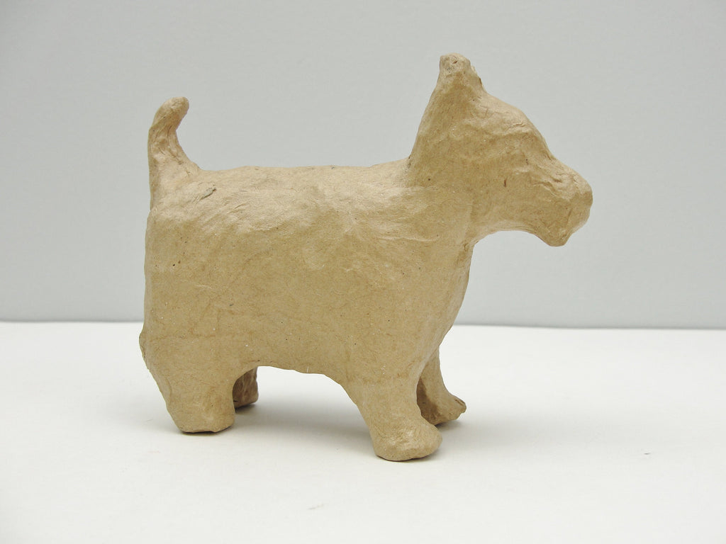 Small paper mache dog - Paper Mache - Craft Supply House