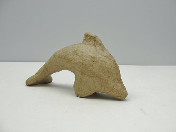 Small paper mache dolphin - Paper Mache - Craft Supply House