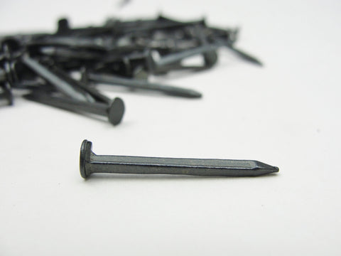 Small cut nails for mixed media art