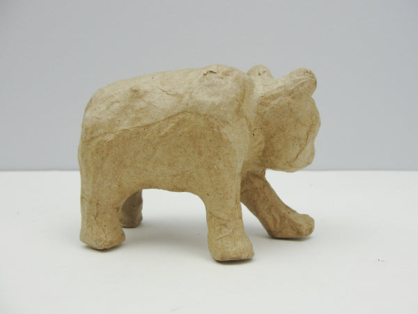 Small walking paper mache grizzly bear - Paper Mache - Craft Supply House