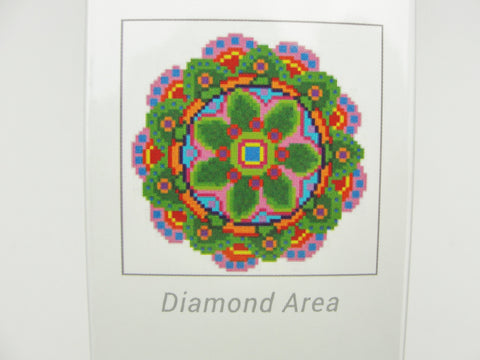 Diamond Dotz flower mandala beginner kit - General Crafts - Craft Supply House