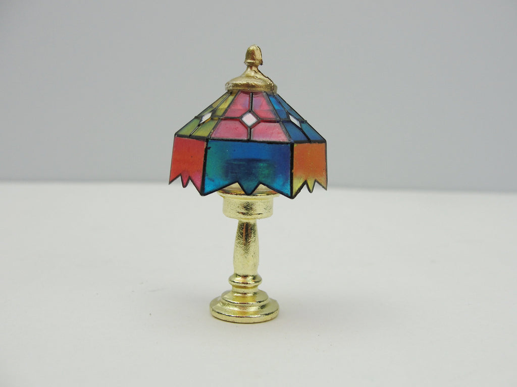 Dollhouse miniature tiffany lamp - Miniatures - Craft Supply House
