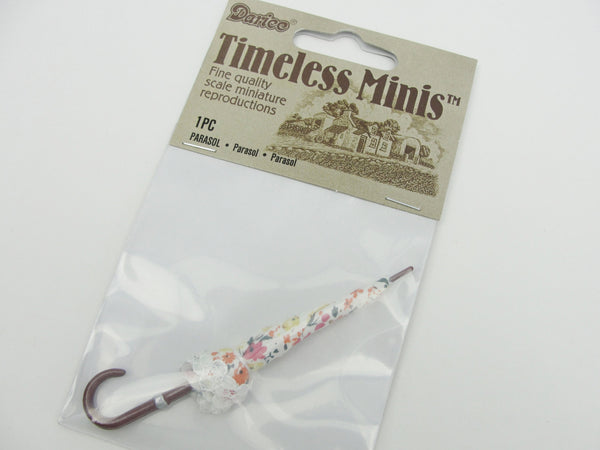 Dollhouse miniature umbrella - Miniatures - Craft Supply House