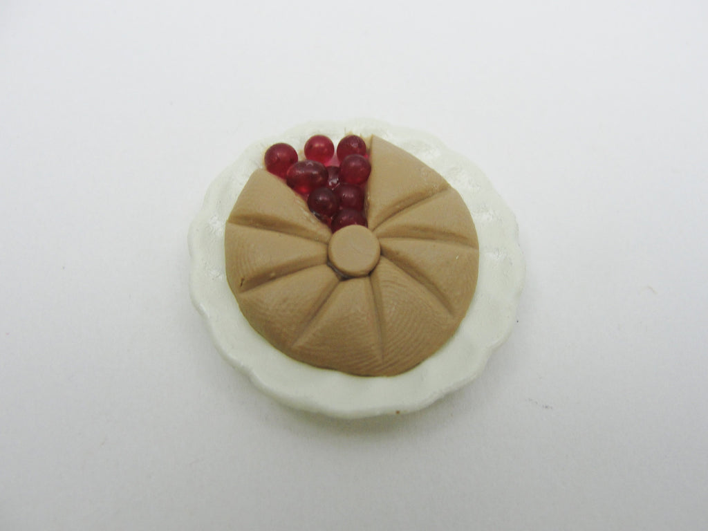 Dollhouse miniature cherry pie - Miniatures - Craft Supply House