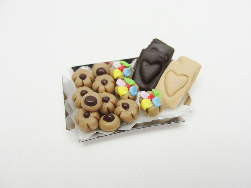 Dollhouse miniature cookie tray - Miniatures - Craft Supply House