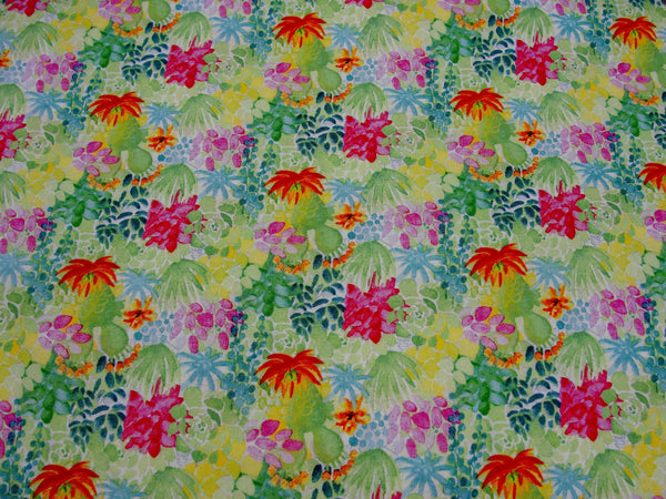 Succulant garden cactus fabric by Michael Miller yardage - Fabric - Craft Supply House