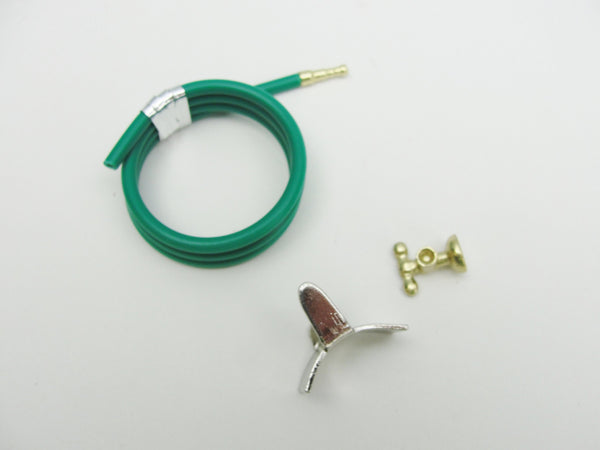 Dollhouse miniature garden hose - Miniatures - Craft Supply House