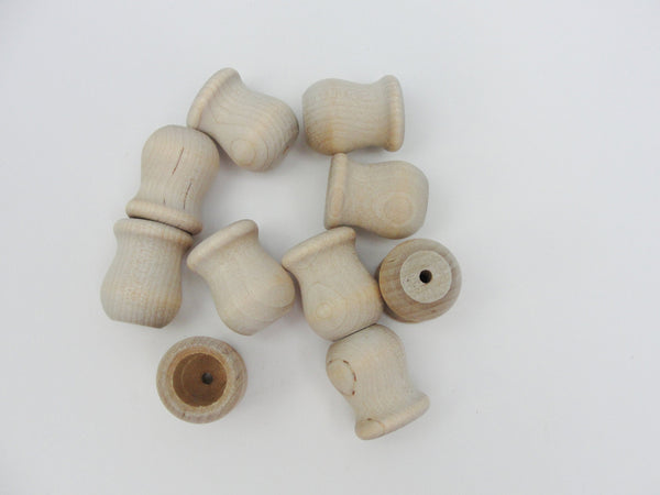 "1"" Wooden candle cup set of 10 - Wood parts - Craft Supply House"