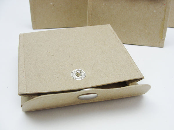 Paper mache snap closure favor box set of 4 - Paper Mache - Craft Supply House