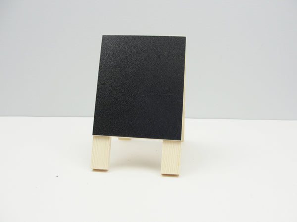 Miniature wood chalkboard easel - General Crafts - Craft Supply House