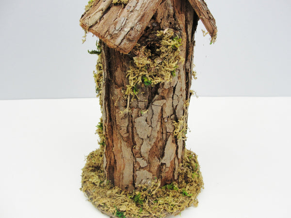 Natural bark birdhouse -  - Craft Supply House