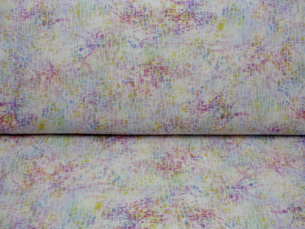 Free form rectangles pastel fabric yardage - Fabric - Craft Supply House