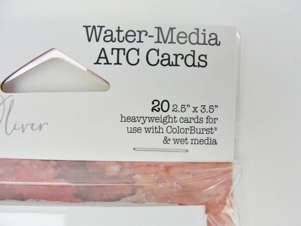 Water-media ATC cards pack of 20 - Mixed Media Art Supplies - Craft Supply House