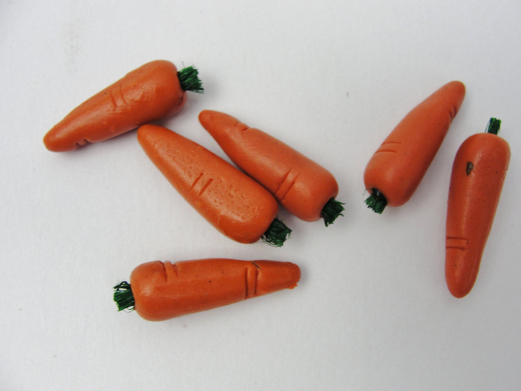 Miniature dollhouse carrots - Miniatures - Craft Supply House