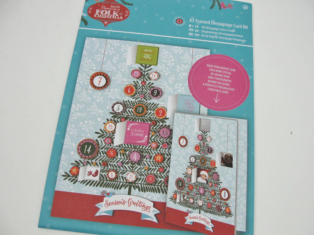 Christmas Advent card kit -  - Craft Supply House