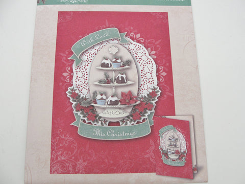 Christmas With Love card making kit -  - Craft Supply House
