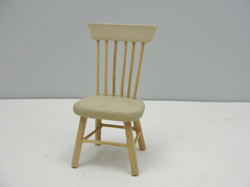 Dollhouse furniture miniature dining chair - Miniatures - Craft Supply House