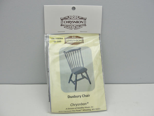 Miniature Duxbury chair kit dollhouse furniture - Miniatures - Craft Supply House