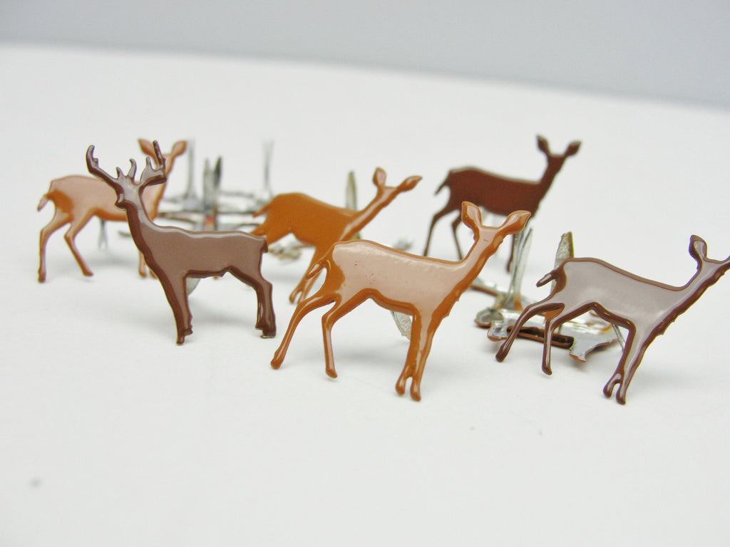 Deer brad paper fasteners - Mixed Media Art Supplies - Craft Supply House