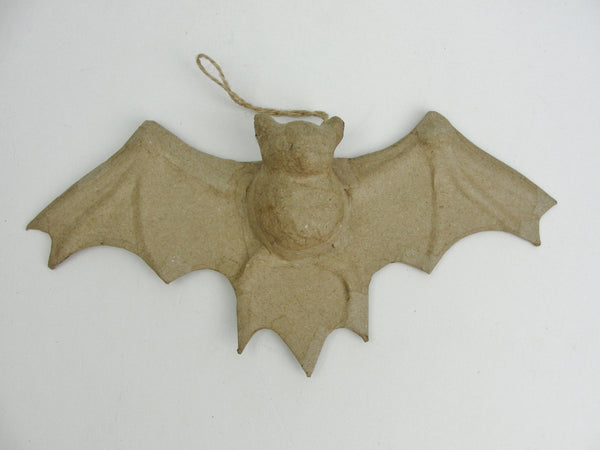 Small paper mache bat spooky halloween animal - Paper Mache - Craft Supply House