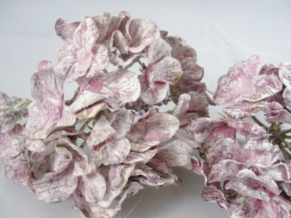 3 Purple Mauve Hydrangea Blooms - Floral Supplies - Craft Supply House