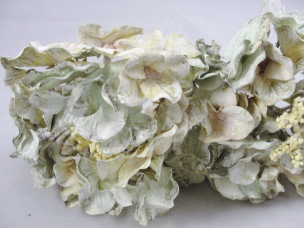 4 Creamy Green Hydrangea Blooms floral pick - Floral Supplies - Craft Supply House