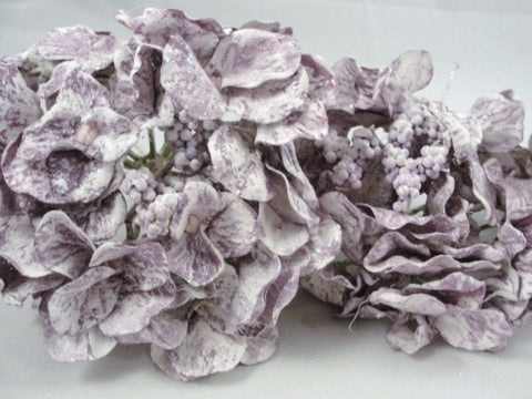 3 Purple Hydrangea Bloom floral picks - Floral Supplies - Craft Supply House