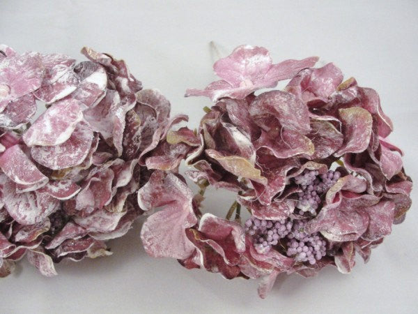 3 Purple Mauve Hydrangea Bloom floral picks - Floral Supplies - Craft Supply House