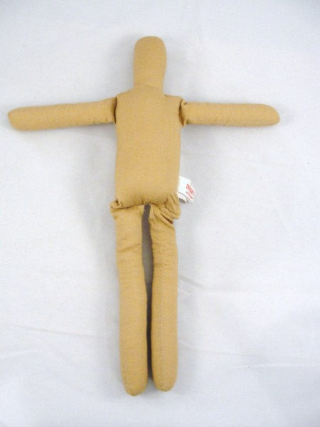 15 inch gingerbread doll blank no sew you finish - General Crafts - Craft Supply House