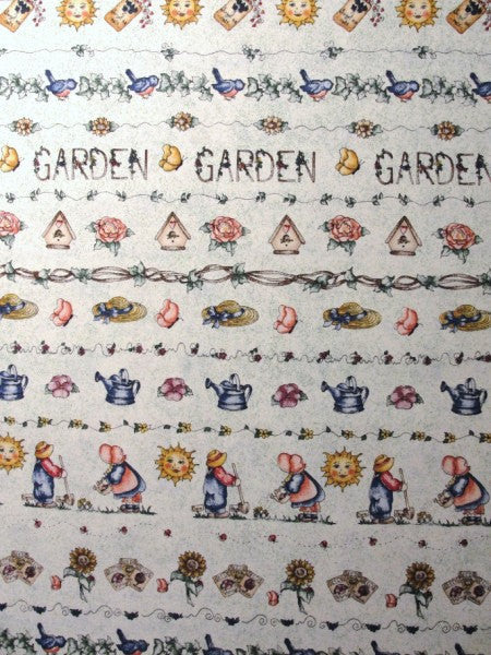 Dianna Marcum garden theme cotton fabric - Fabric - Craft Supply House