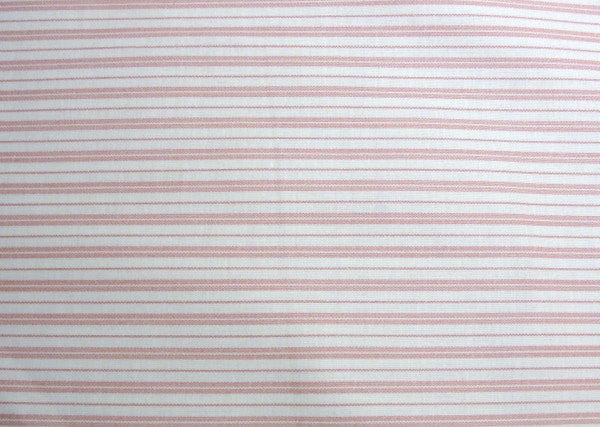 Mauve stripe fabric, pillow ticking design, yardage - Fabric - Craft Supply House