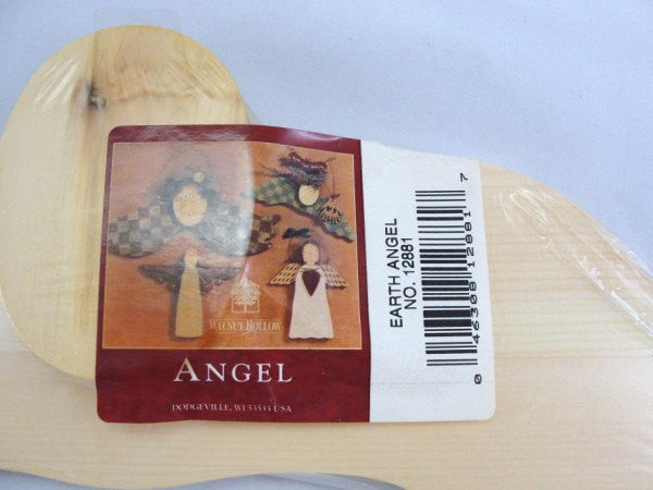 Unfinished wooden Angel DIY Walnut Hollow - Wood parts - Craft Supply House
