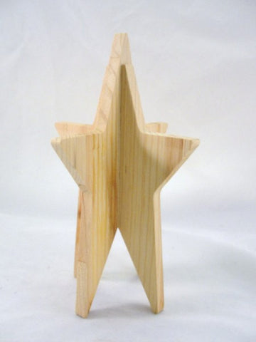 Star wooden dimensional DIY paint your own