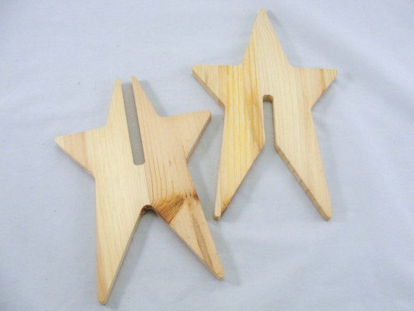 Star wooden dimensional DIY paint your own - Wood parts - Craft Supply House