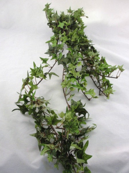 Silk ivy bush bridal bouquet base 5 point leaf ivy - Floral Supplies - Craft Supply House